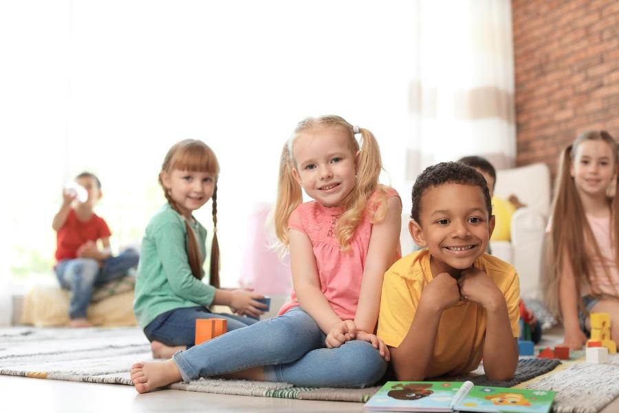 Kleine Kinder in der Kita