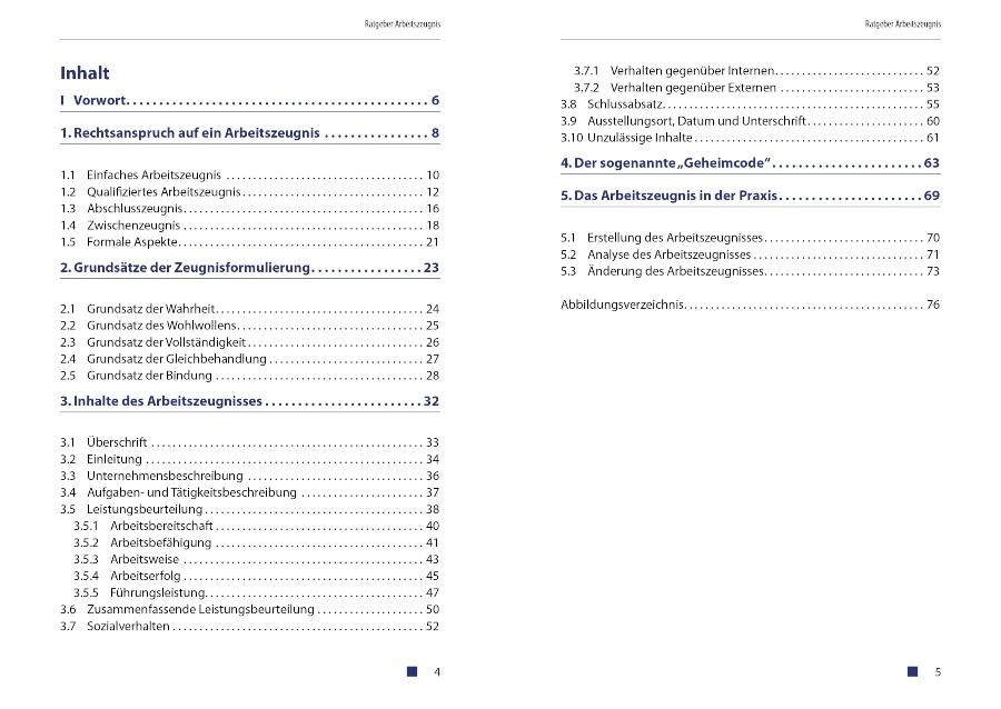 ratgeber-arbeitszeugnis-pdf-version-inhaltsverzeichnis