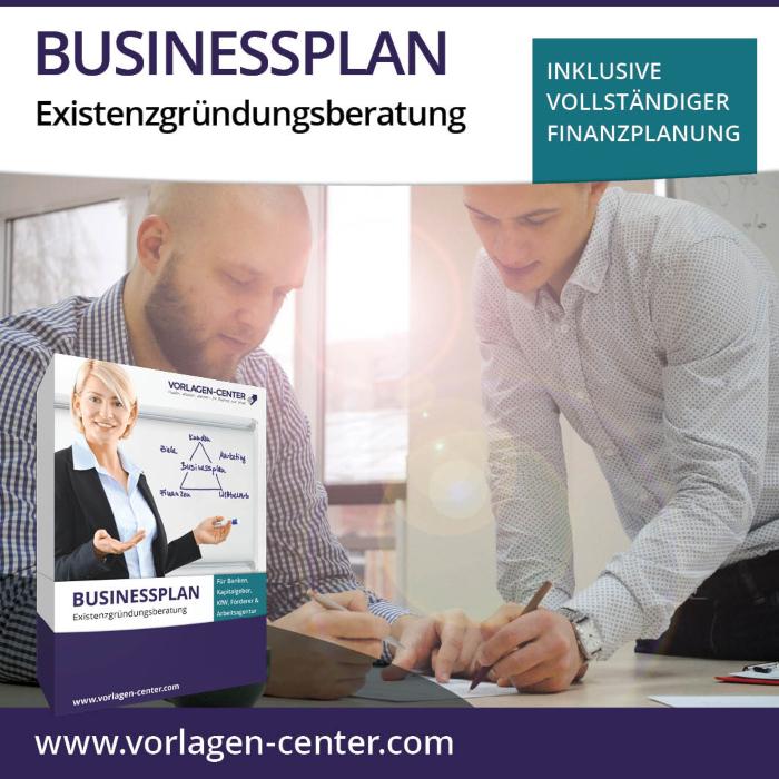 Businessplan-Paket Existenzgründungsberatung - zB eigene Agentur gründen