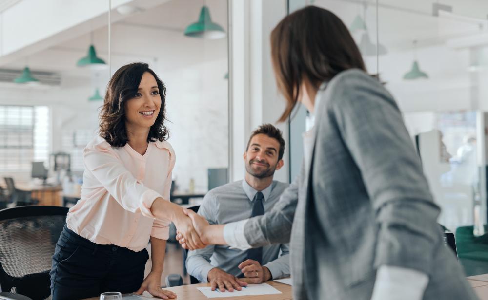 Erfolgreiche Business Frauen