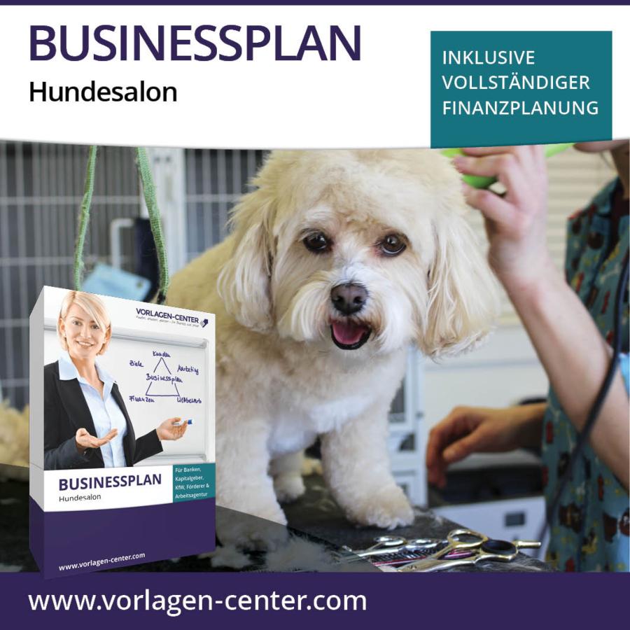 Businessplan-Paket Hundesalon