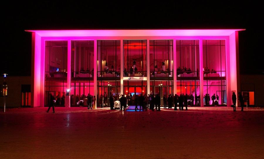Alte Kongresshalle München, erleuchtet