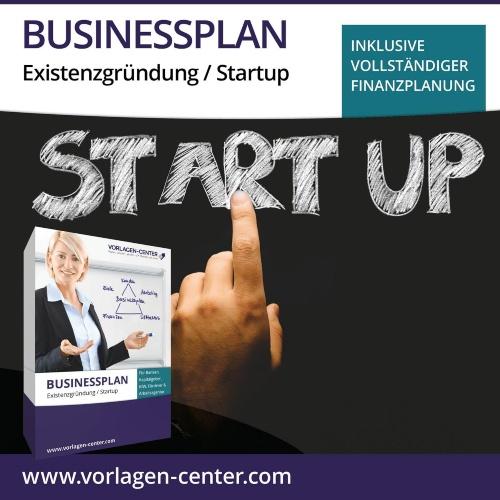 Businessplan-Paket Existenzgründung / Startup