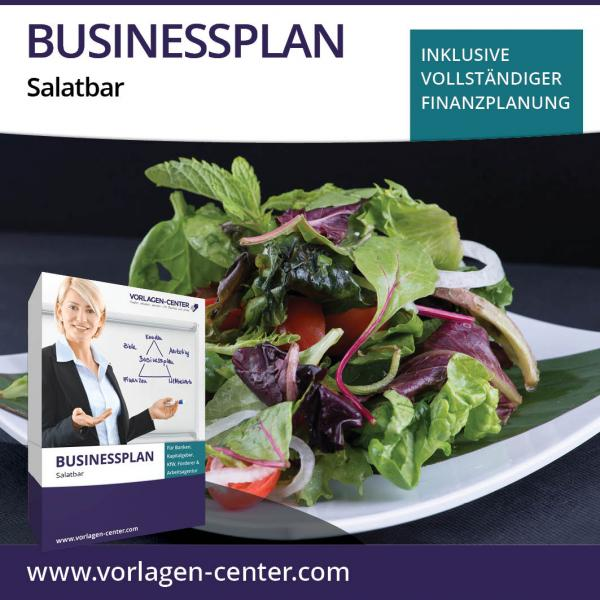 Businessplan-Paket Salatbar