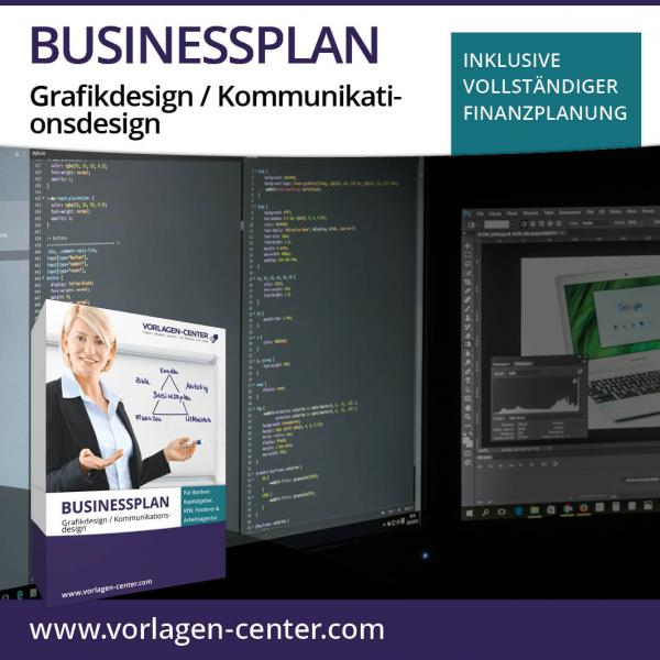 Businessplan-Paket Grafikdesign / Kommunikationsdesign