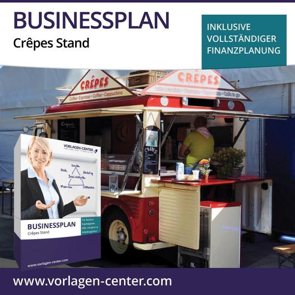 Businessplan-Paket Crêpes Stand