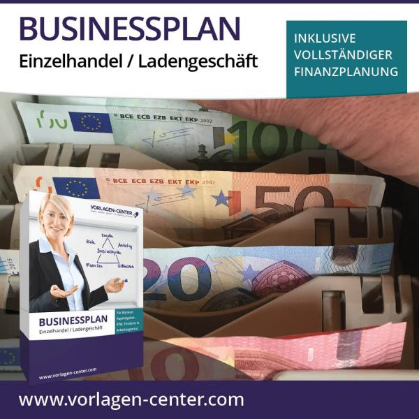 Businessplan-Paket Einzelhandel / Ladengeschäft