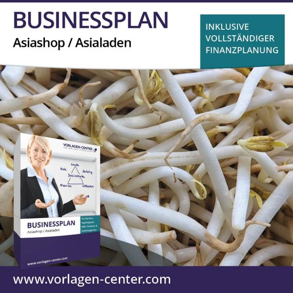 Businessplan-Paket Asiashop / Asialaden