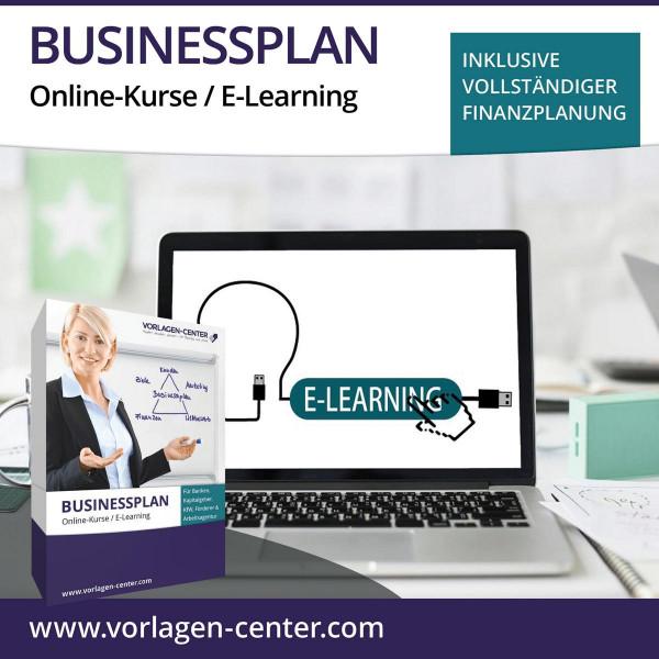 Businessplan-Paket Online-Kurse / E-Learning