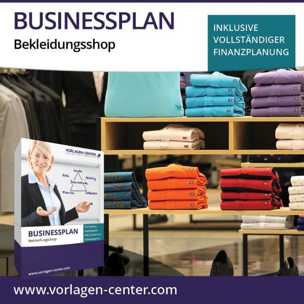 Businessplan Bekleidungsshop