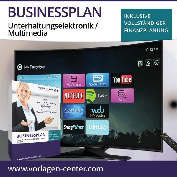 Businessplan Unterhaltungselektronik / Multimedia