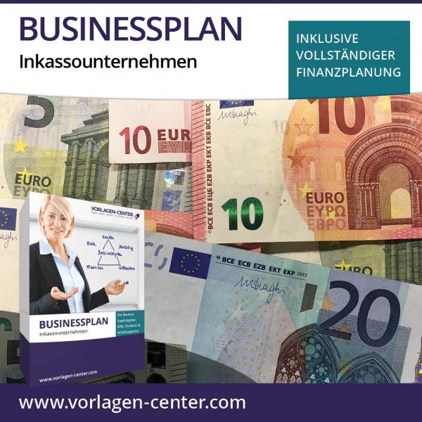 Businessplan-Paket Inkassounternehmen