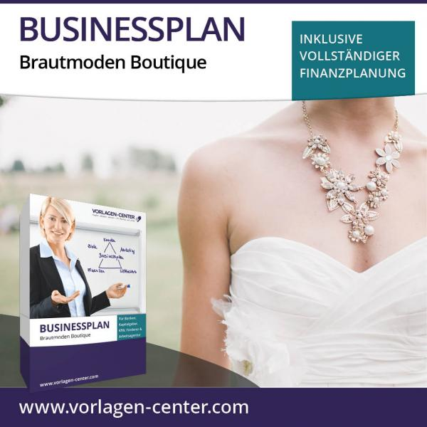 Businessplan Brautmoden Boutique