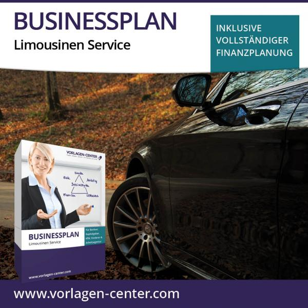 Businessplan-Paket Limousinen Service