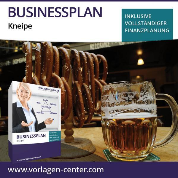 Businessplan-Paket Kneipe