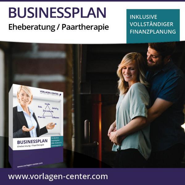 Businessplan-Paket Eheberatung / Paartherapie