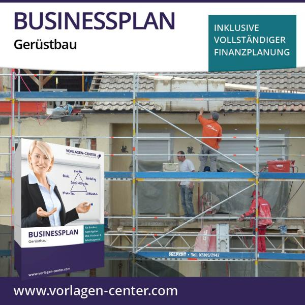 Businessplan-Paket Gerüstbau