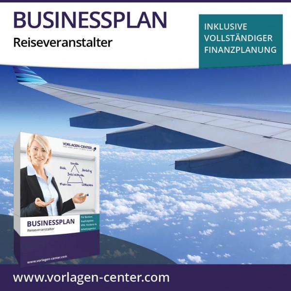 Businessplan-Paket Reiseveranstalter