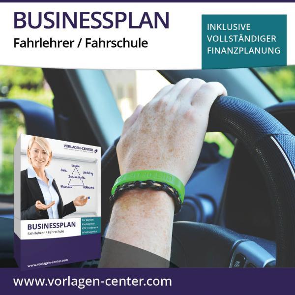 Businessplan-Paket Fahrlehrer / Fahrschule