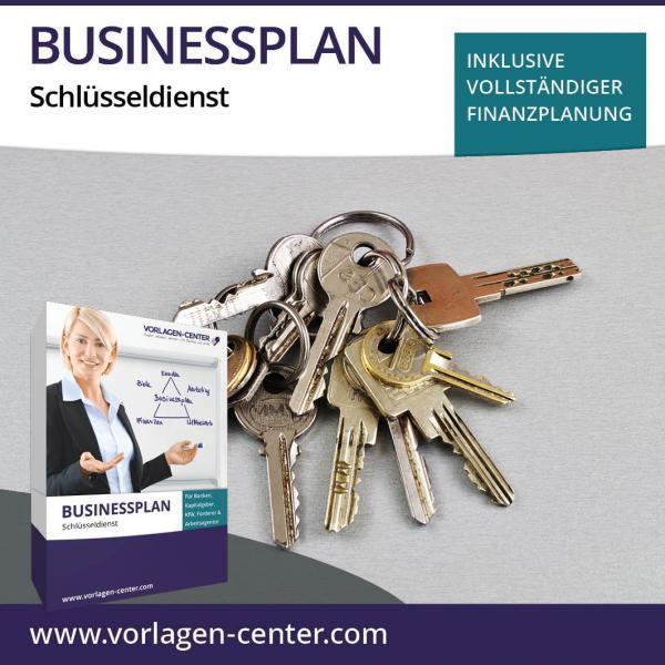 Businessplan-Paket Schlüsseldienst