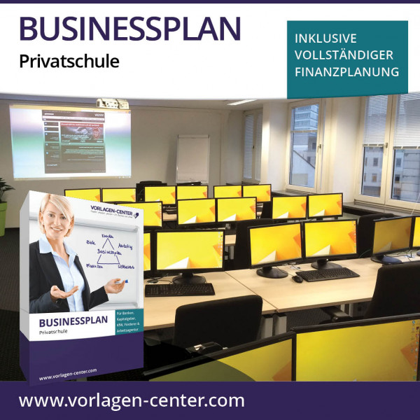 Businessplan-Paket Privatschule