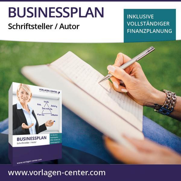 Businessplan-Paket Schriftsteller / Autor