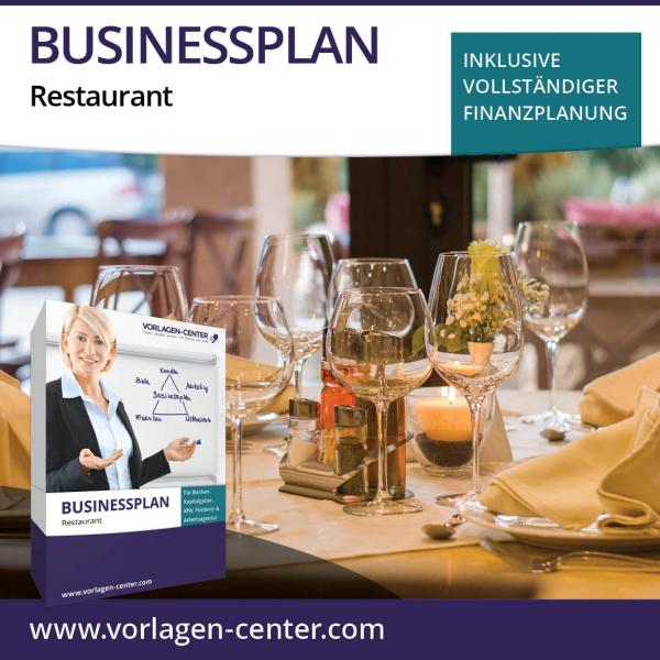 Businessplan-Paket Restaurant