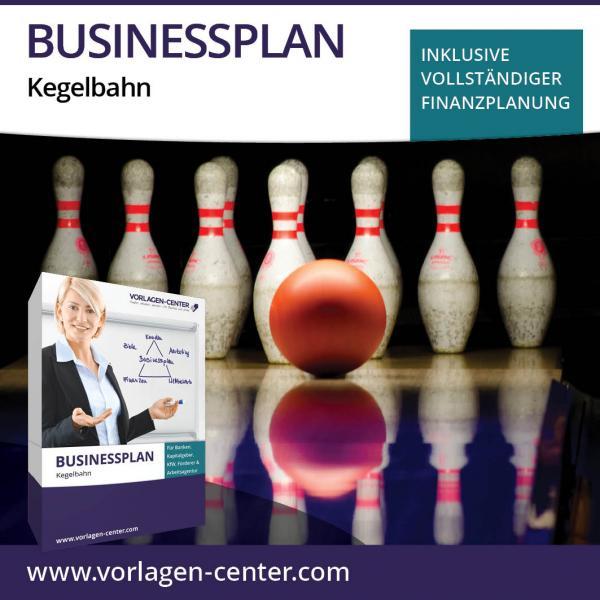 Businessplan-Paket Kegelbahn