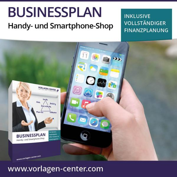 Businessplan-Paket Handy- und Smartphone-Shop