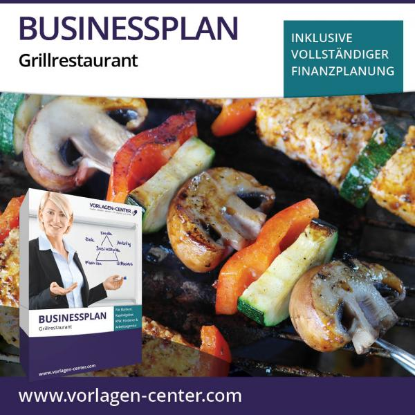 Businessplan-Paket Grillrestaurant