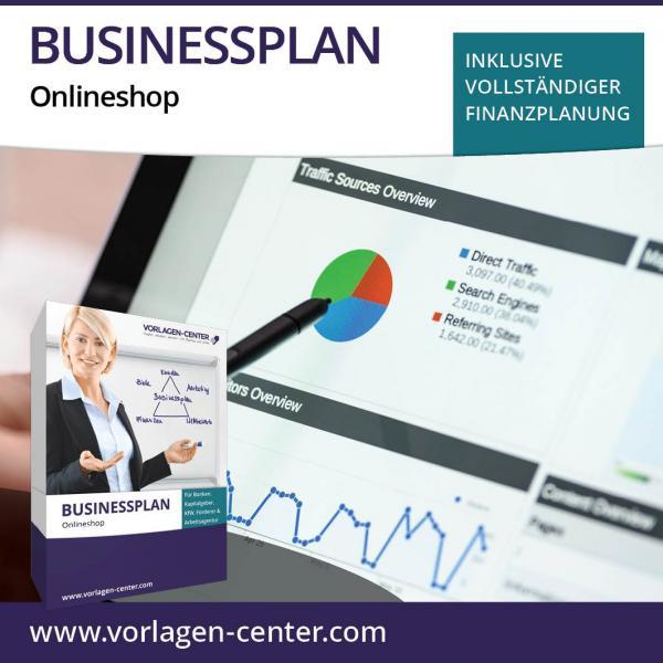 Businessplan-Paket Onlineshop