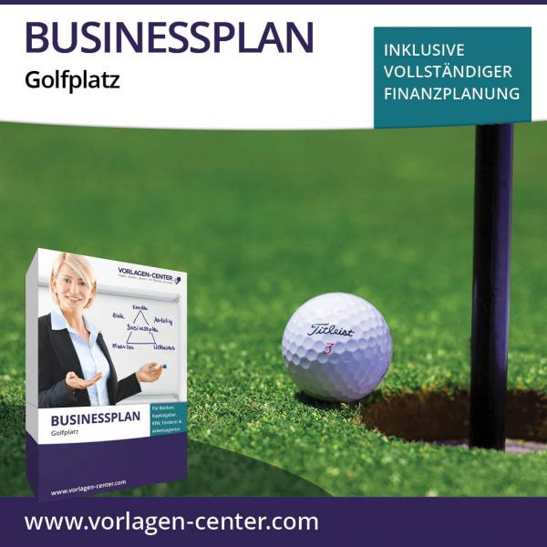 Businessplan-Paket Golfplatz