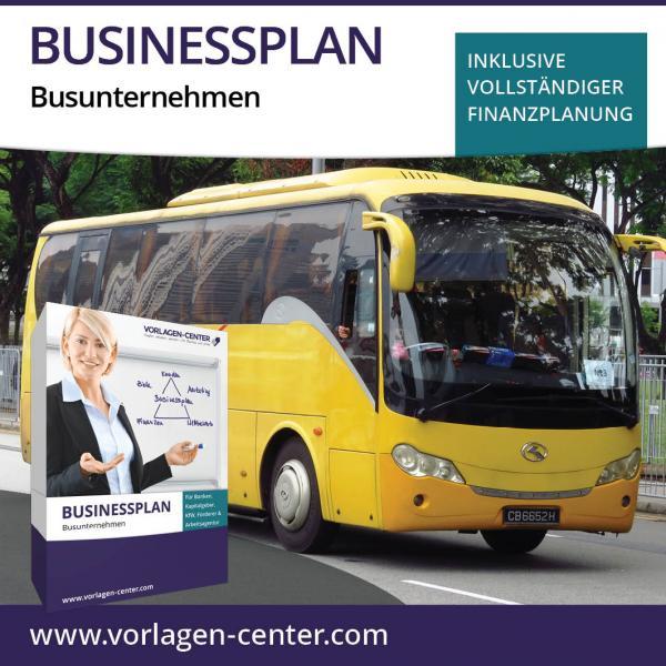 Businessplan-Paket Busunternehmen