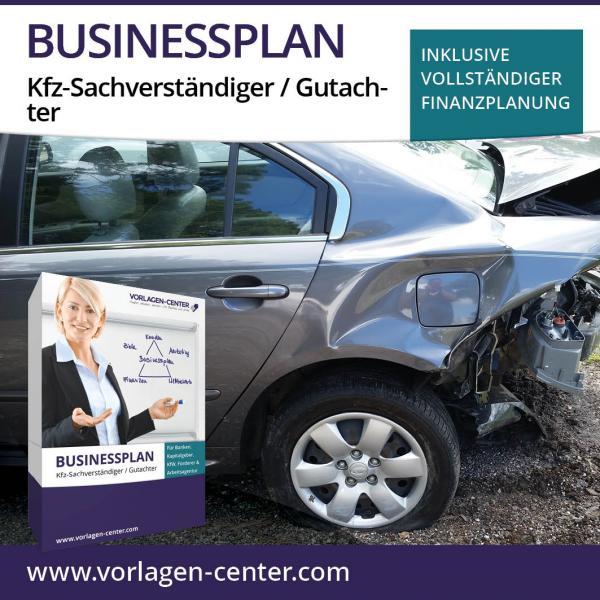 Businessplan-Paket Kfz-Sachverständiger / Gutachter