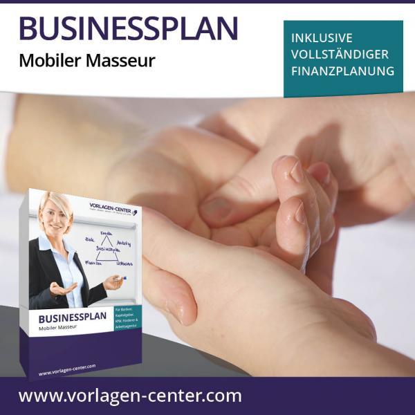 Businessplan-Paket Mobiler Masseur