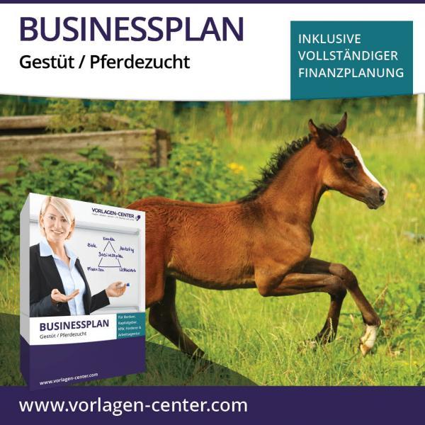 Businessplan-Paket Gestüt / Pferdezucht