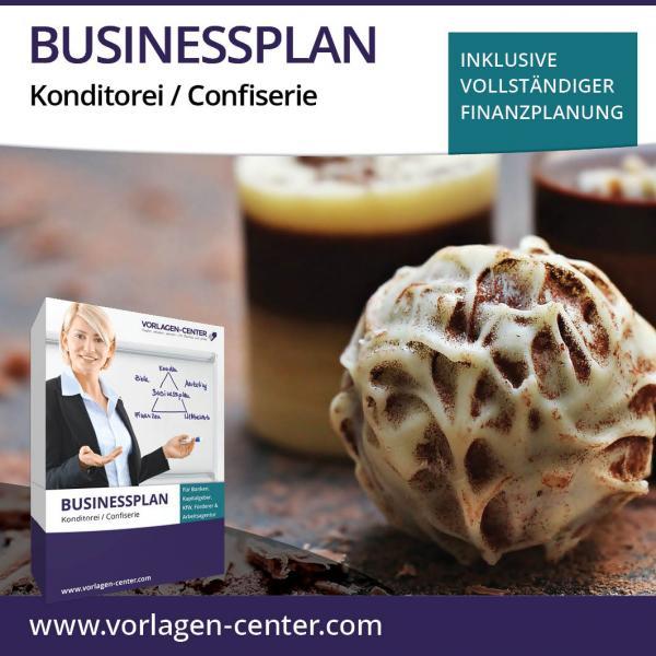 Businessplan Konditorei / Confiserie