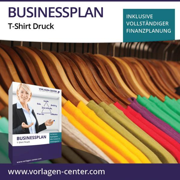 Businessplan-Paket T-Shirt Druck