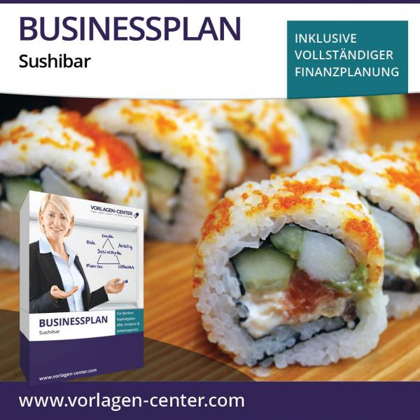 Businessplan-Paket Sushibar