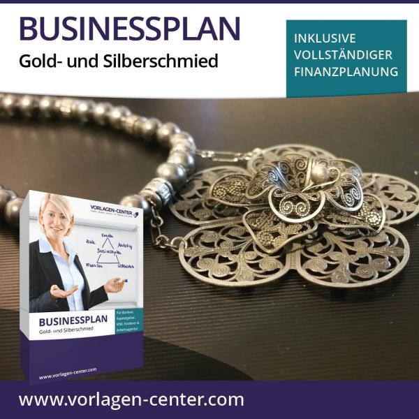 Businessplan-Paket Gold- und Silberschmied