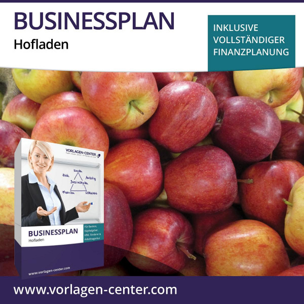 Businessplan-Paket Hofladen