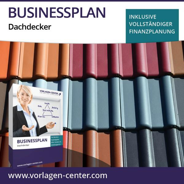 Businessplan-Paket Dachdecker