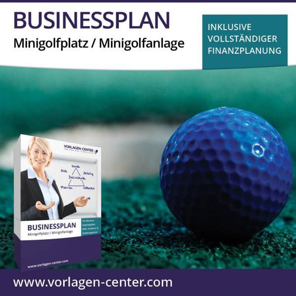 Businessplan-Paket Minigolfplatz / Minigolfanlage