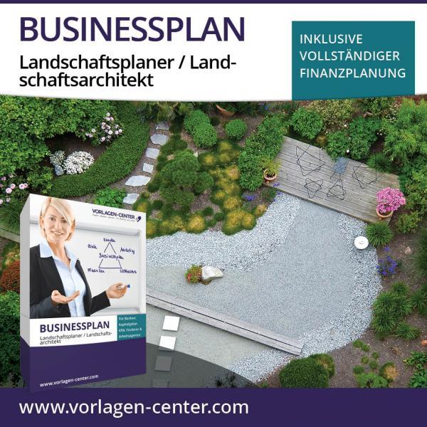 Businessplan-Paket Landschaftsplaner / Landschaftsarchitekt