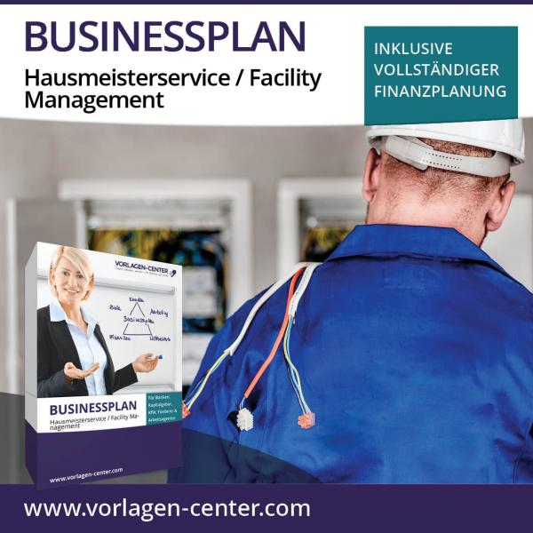 Businessplan-Paket Hausmeisterservice / Facility Management