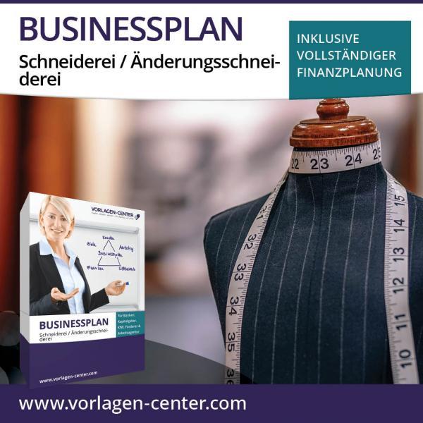 Businessplan-Paket Schneiderei / Änderungsschneiderei