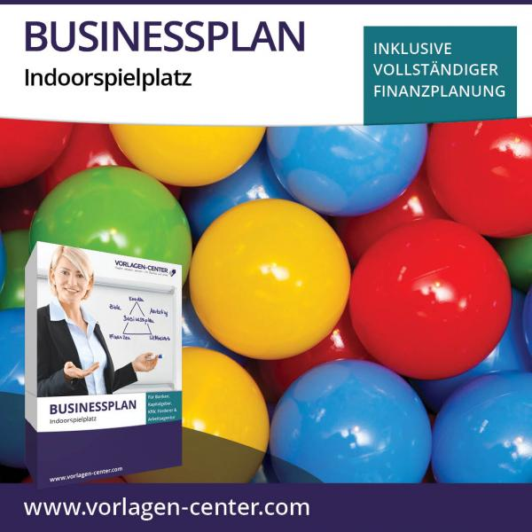 Businessplan-Paket Indoorspielplatz