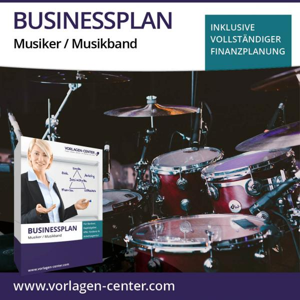 Businessplan Musiker / Musikband