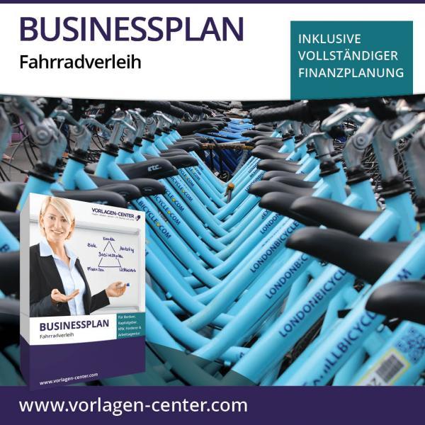 Businessplan-Paket Fahrradverleih