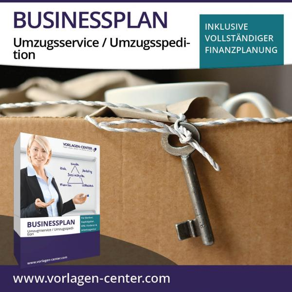 Businessplan-Paket Umzugsservice / Umzugsspedition